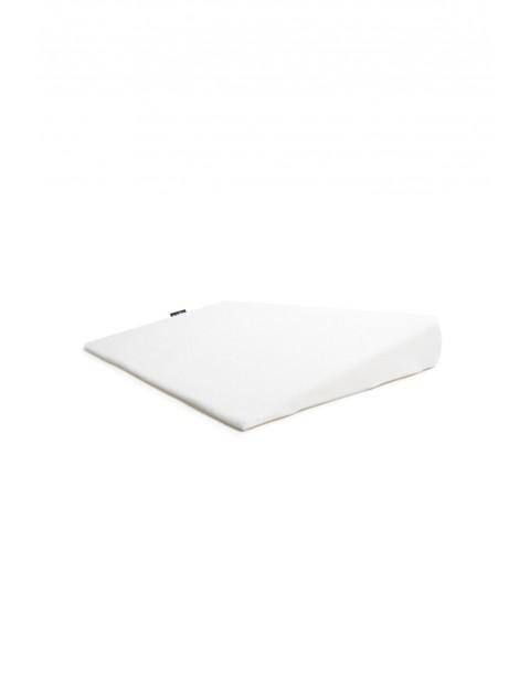 Poduszka klin frotte 60 x 37 x 7 cm biała