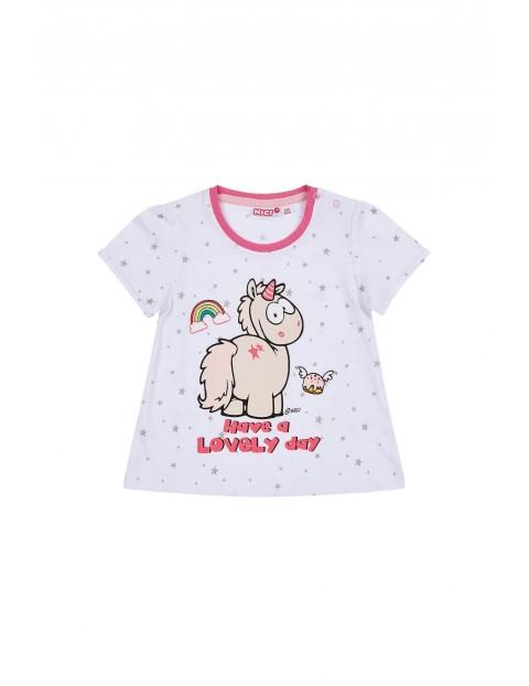 Bluzka niemowlęca z jednorożcem NICI-100% bawełna