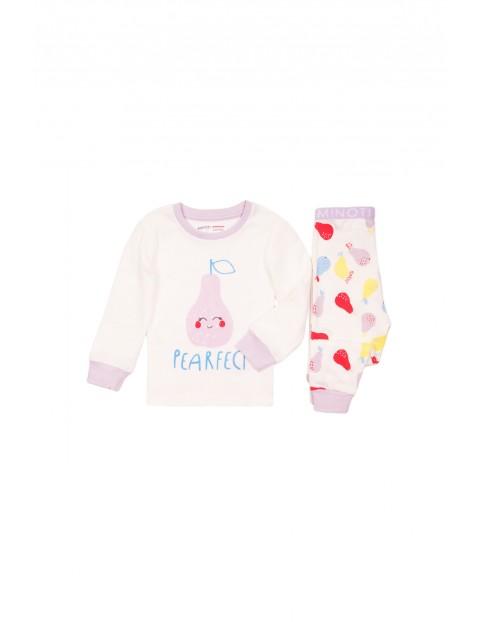 Pidżama niemowlęca w gruszki