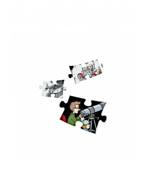 Interaktywne mówiące puzzle 100 el. Puzzle Wrzechświat