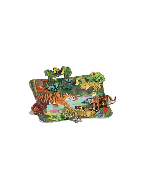 Puzzle 3D- Dżungla