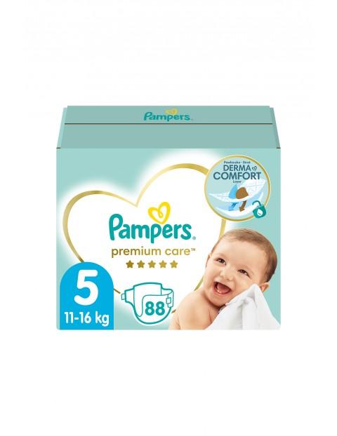 Pampers Premium Care Monthly Box Rozmiar 5, 88 pieluszek 11-16kg
