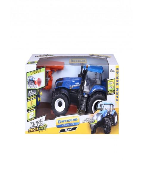 Zdalnie sterowany traktor na licencji New Holland wiek 8+
