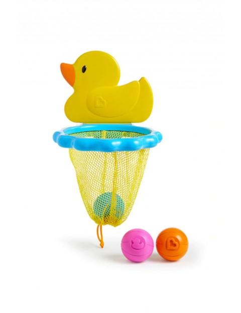 Zabawka kąpielowa kaczuszka z siatką i piłeczkami Munchkin