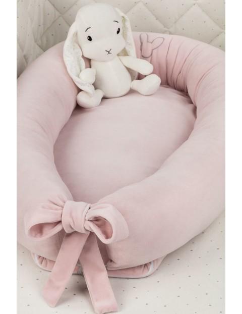 Aksamitne gniazdo Effiki - różowe