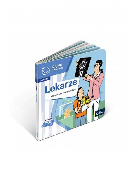 Czytaj z Albikiem - Zawody - Lekarze - Interaktywna mówiąca książka