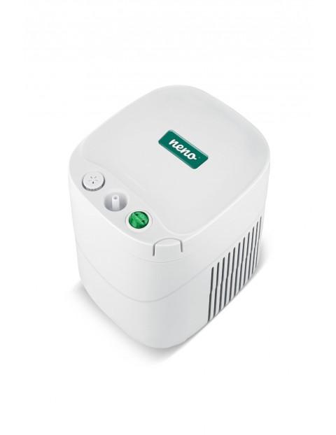 Inhalator Neno Sente  certyfikowany produkt medyczny w kolorze biało - zielonym