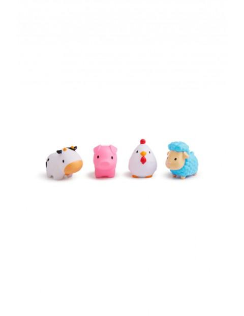 Zabawki kąpielowe farma 4szt Munchkin  12msc+