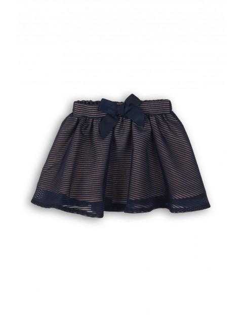 Spódnica dziewczęca granatowa