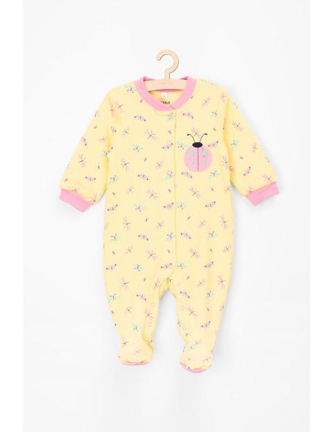 Pajac niemowlęcy 100% bawełna-bielizna dla niemowlaka