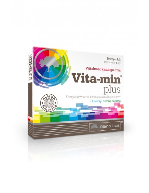 Vita-Min plus (zielona herbata i luteina) 30 kapsułek