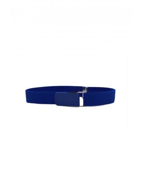 Pasek chłopięcy - niebieski 60cm