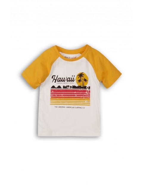 Niemowlęcy t-shirt z nadrukiem Hawaii