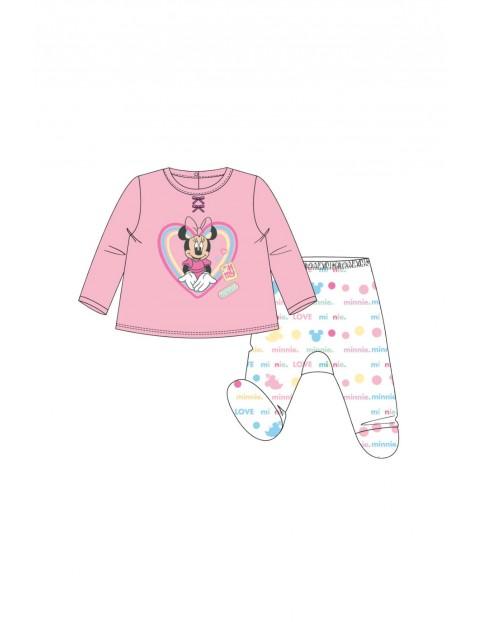 Komplet niemowlęcy   MInnie Mouse -  różowy