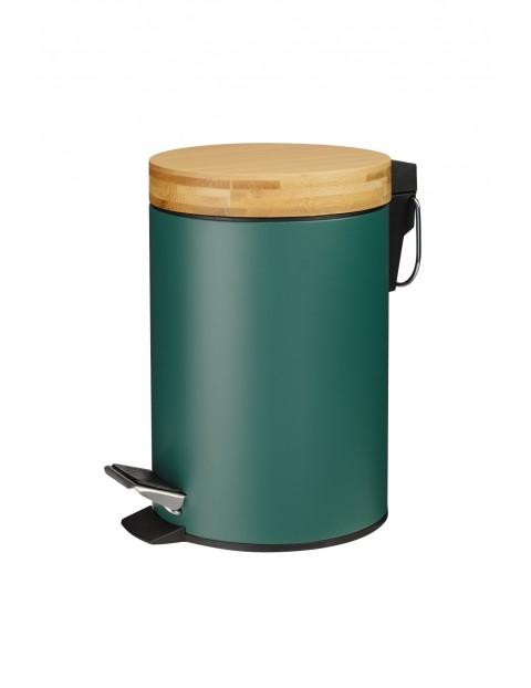 Kosz łazienkowy zielony 3L