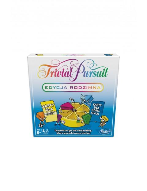 """Gra rodzinna """"Trivial Pursuit Edycja Rodzinna"""" 8+"""