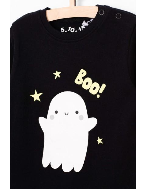Bawełniane czarne body z duszkiem Booo