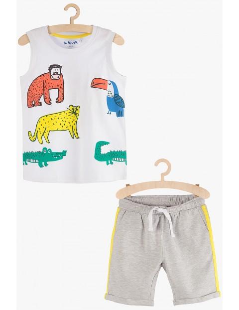 Komplet chłopięcy - t-shirt i spodenki