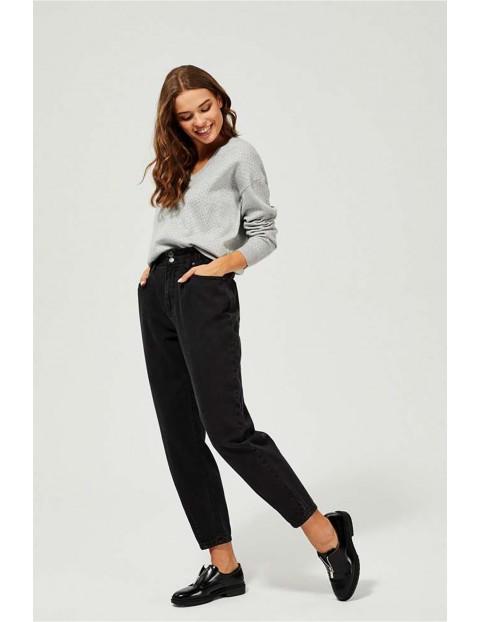 Sweter damski szary- luźny fason