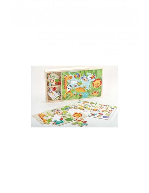 Puzzle edukacyjne dla dzieci 3w1 5O31EQ