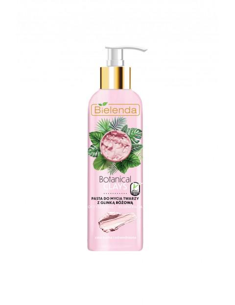BOTANICAL CLAYS Wegańska pasta do mycia twarzy z glinką różową - 190 g