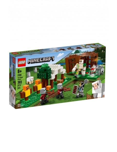 Lego Minecraft - Kryjówka rozbójników - 303 elementy wiek 8+