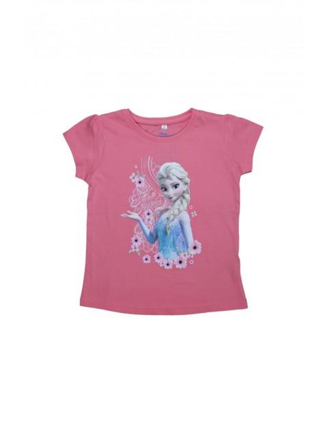 T-shirt dziewczęcy Kraina Lodu 3I34CO