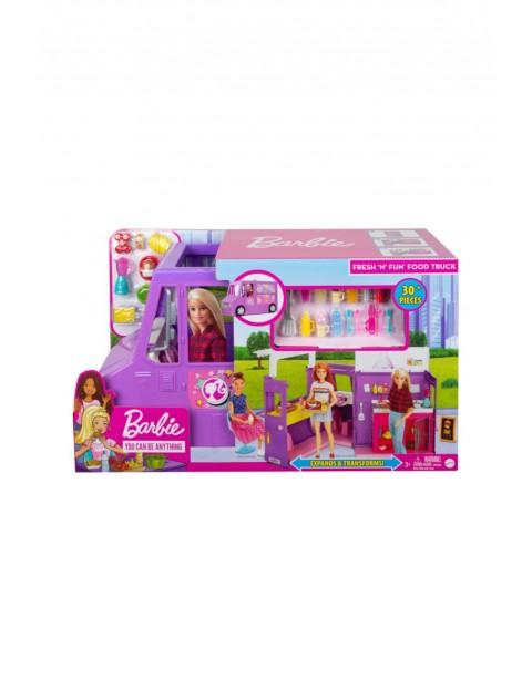 Barbie - Samochód Foodtruck dla lalki wiek 3+