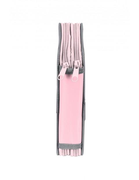 Piórnik bez wyposażenia Barbie różowy