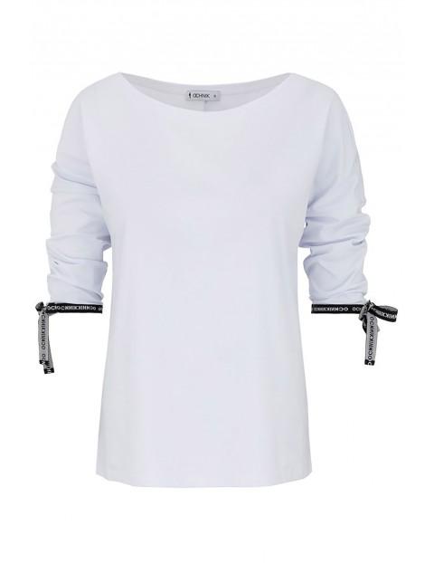 Bluzka damska biała OCHNIK