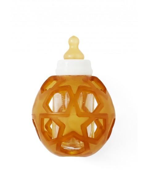 Szklana butelka piłka z gwiazdą 120ml