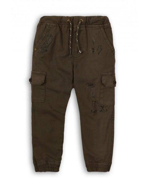 Spodnie dla niemowlaka- dino