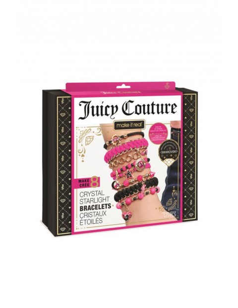 Zestaw do tworzenia bransoletek - Juicy Couture x Swarovski wiek 8+