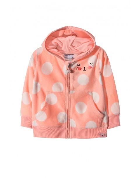 Bluza polarowa dziewczęca 3G3403