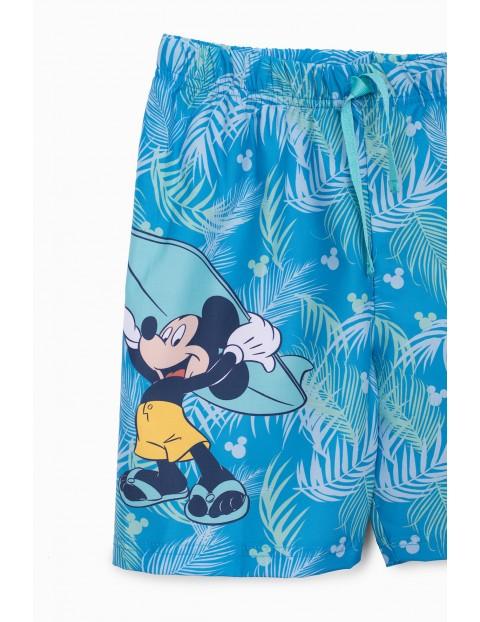 Szorty kąpielowe chłopięce Myszka Miki - niebieskie