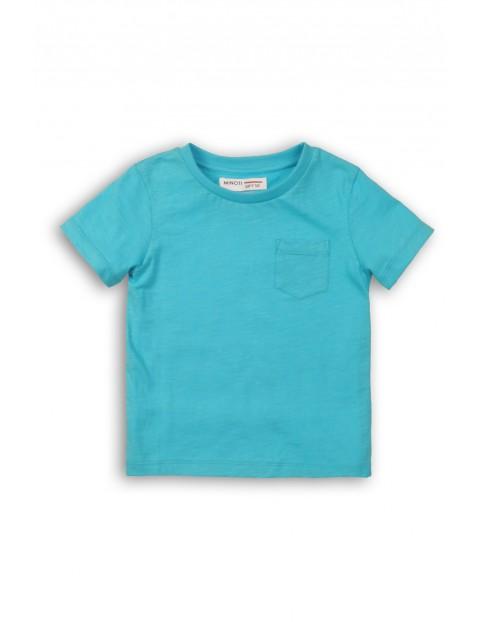 Niebieska bluzka niemowlęca