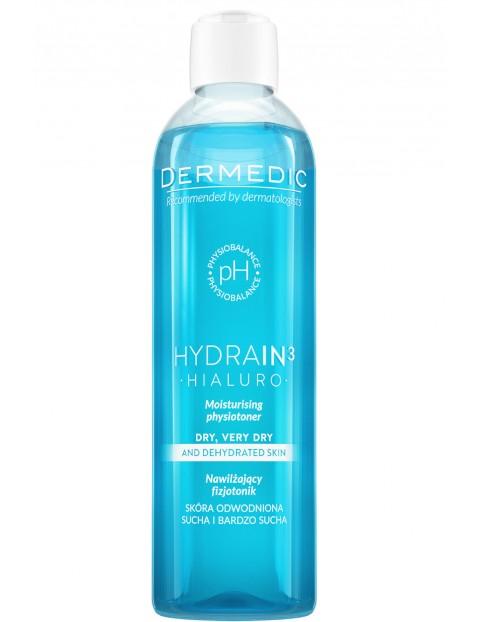 Nawilżający fizjotonik HYDRAIN 3 HIALURO 200 ml