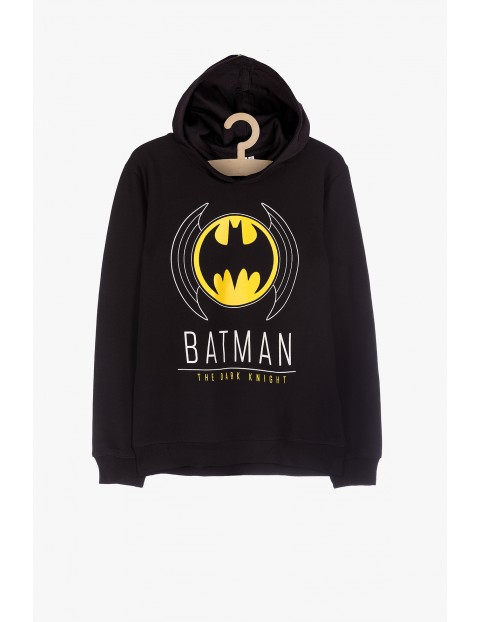 Bluza dresowa Batman- czarna z kapturem
