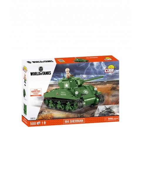 Klocki COBI Czołg M4 Sherman 450 elementów