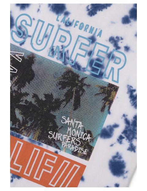 Bawełniana bluzka chłopięca Surfer