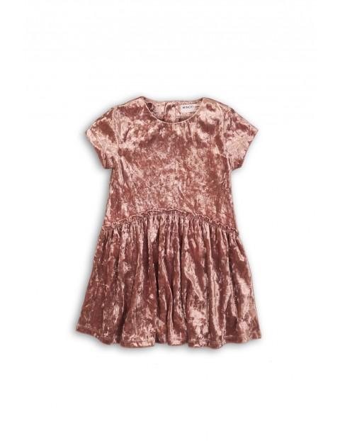 Sukienka dziewczęca różowa