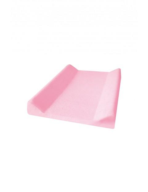 Bawełniany pokrowiec na przewijak- różowy 50/60x70/80cm