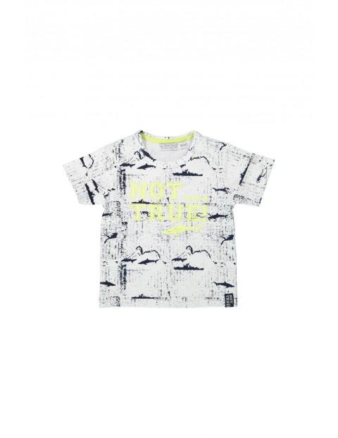 T-shirt chłopięcy Not true
