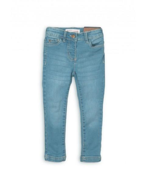 Spodnie jeansowe dla niemowlaka- niebieskie