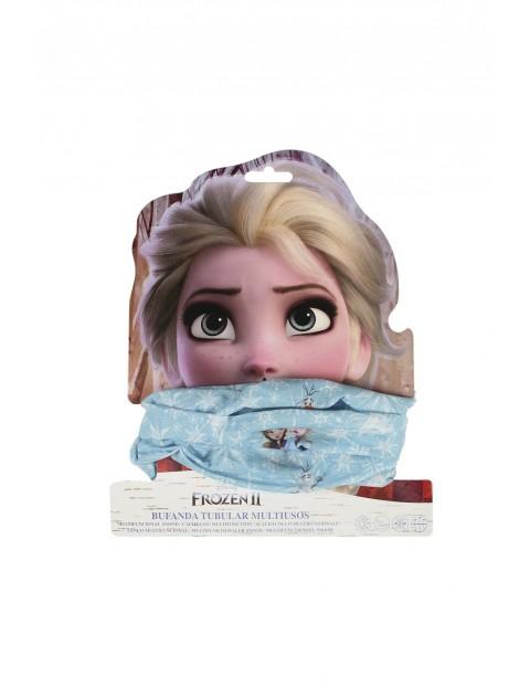 Komin cienki dziewczęcy Frozen 2 - niebieski