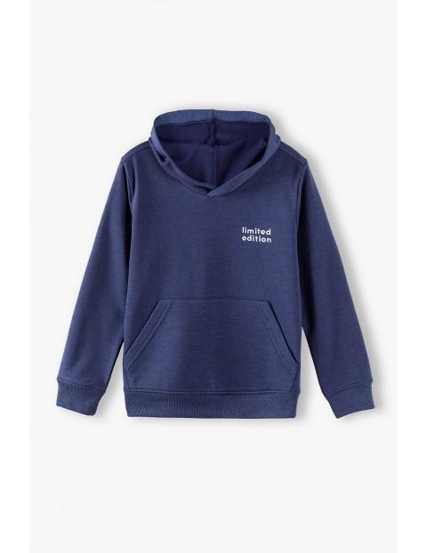 Bluza dresowa chłopięca z kapturem- Limited Edition