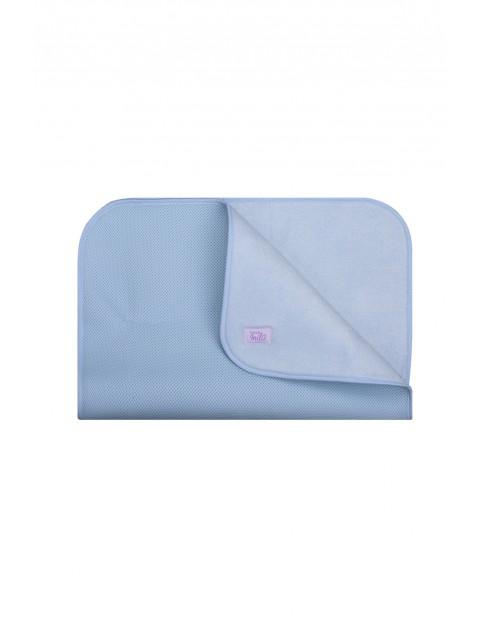 Mata do przewijania 50 x 70 cm - niebieska