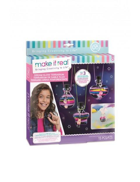 Make it Real Zestaw do tworzenia naszyjników świecących w ciemności wiek 8+