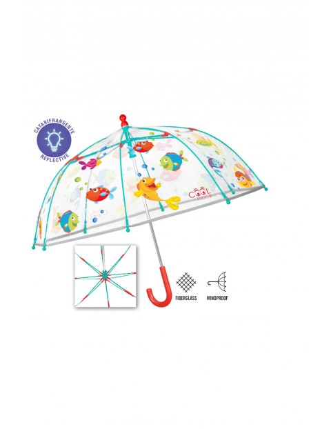 "Parasol manualny ""rybki""  Cool Kids Perletti"
