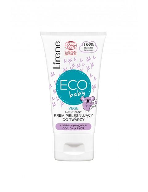 Lirene ECO BABY Naturalny krem pielęgnujący do twarzy, ECOCERT 50 ml